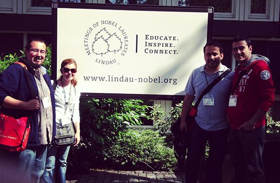 Lindau Nobel Laureate Meeting – Day 1