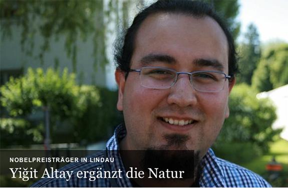 My Interview with Deutsche Welle in 63rd Lindau Nobel Laureate Meeting
